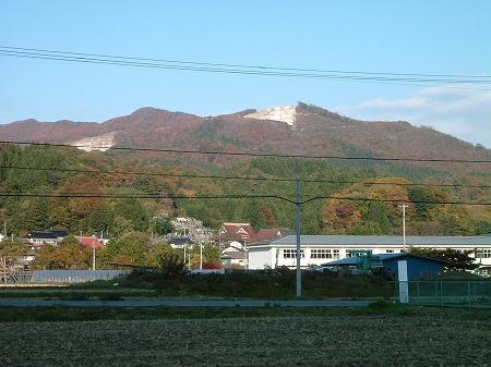 畑からの風景